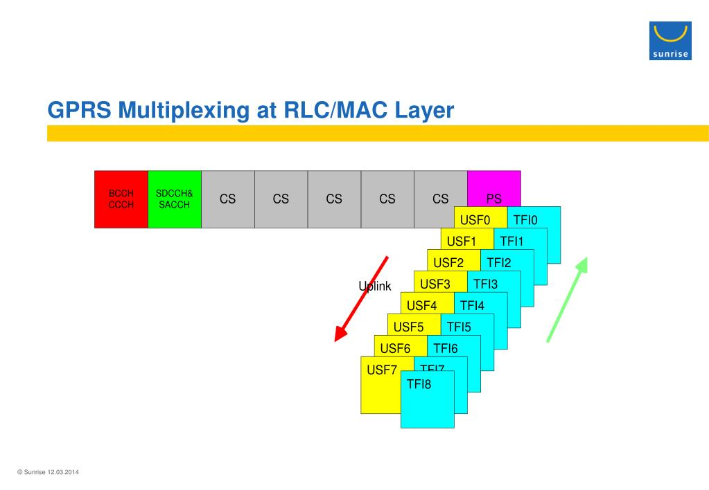 GPRS Multiplexing at RLC/MAC Layer