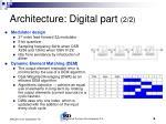 architecture digital part 2 2