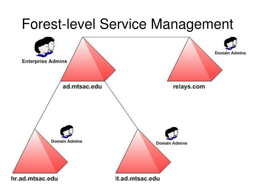 Forest-level Service Management