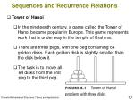 sequences and recurrence relations10