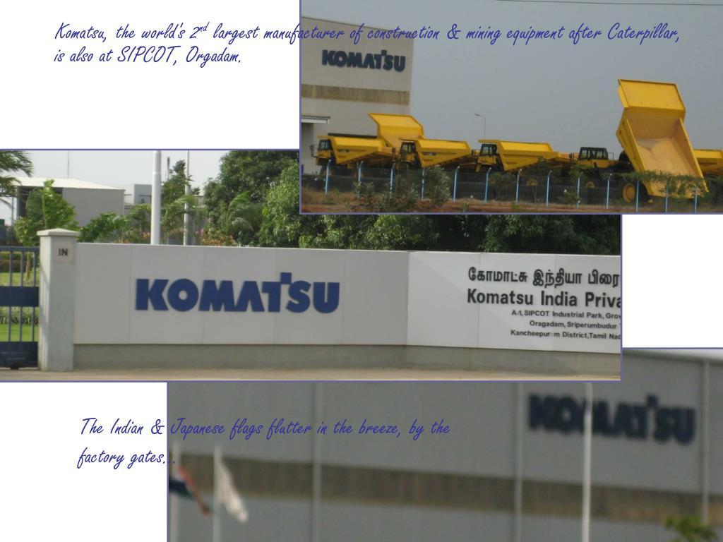 Komatsu, the world's 2