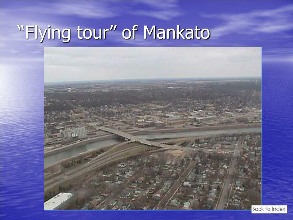 """Flying tour"" of Mankato"