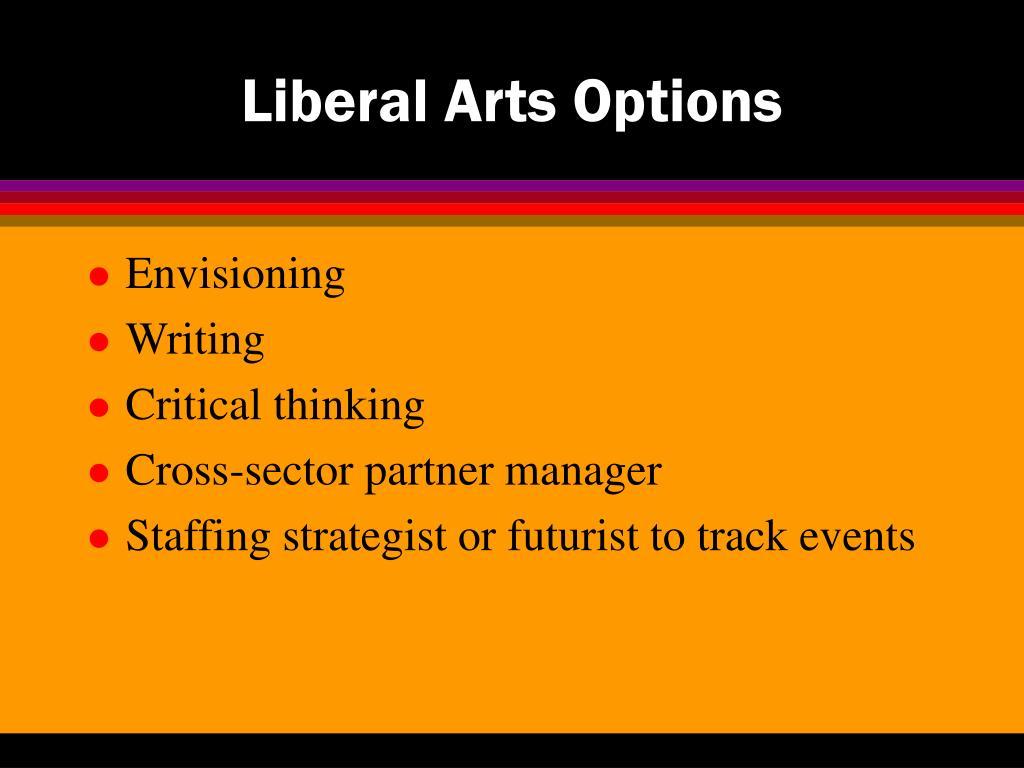 Liberal Arts Options