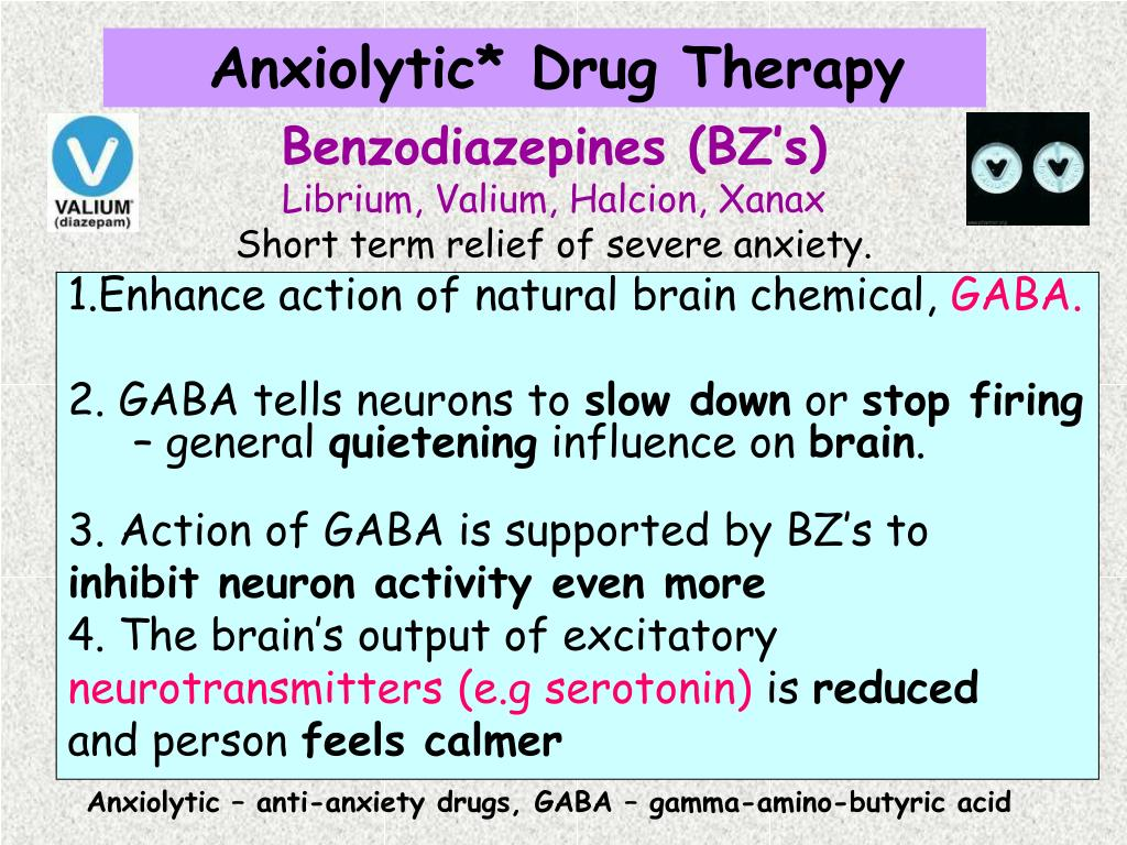 1.Enhance action of natural brain chemical,