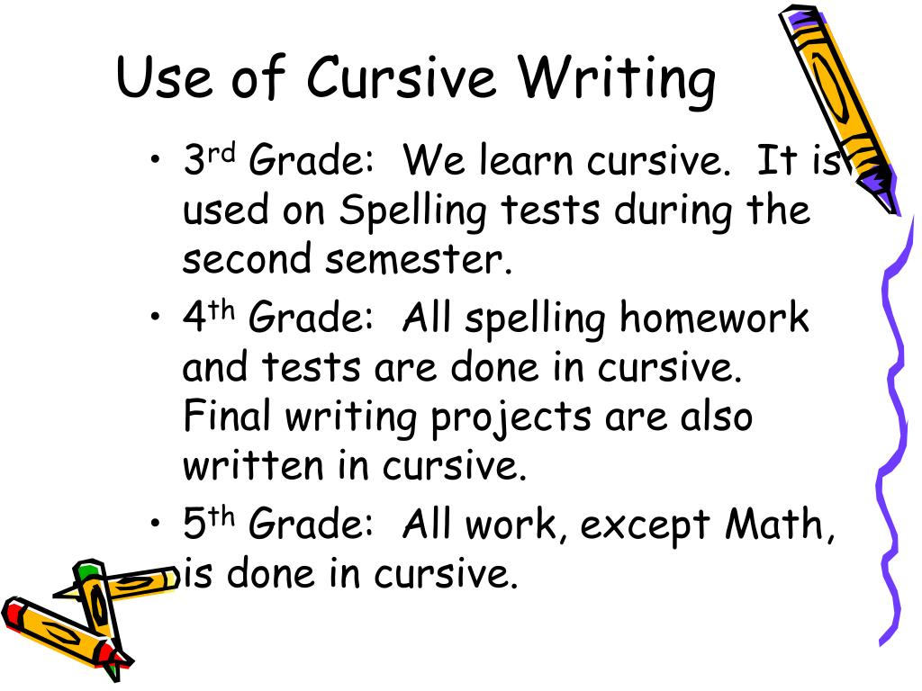 cursive writing programs