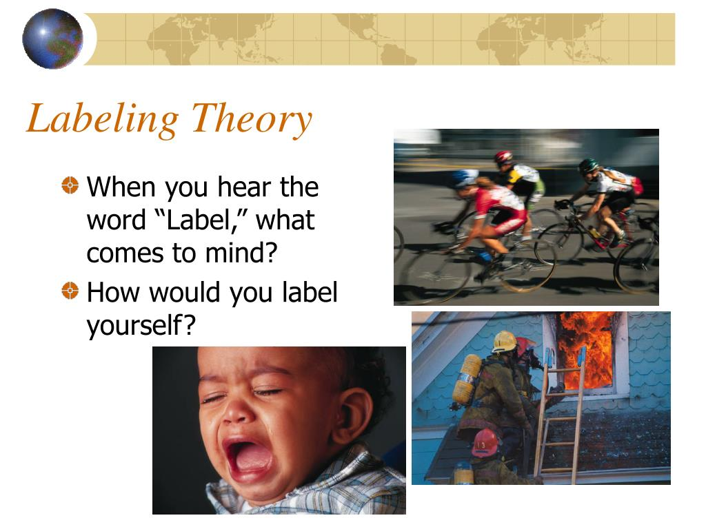 This is a photo of Gutsy Labeling Theory Focuses on