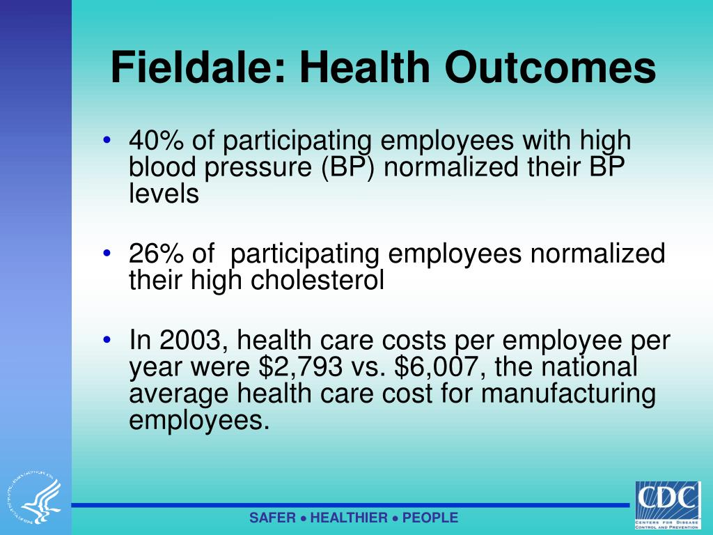 Fieldale: Health Outcomes