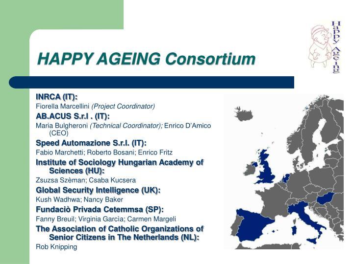 Happy ageing consortium