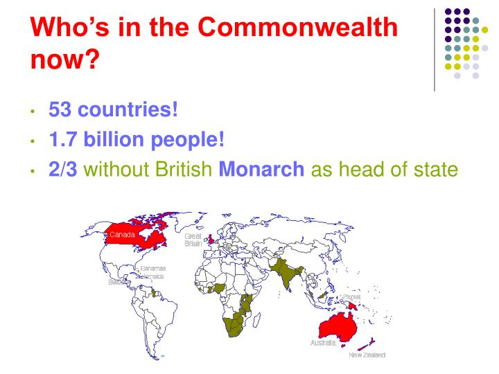 Who's in the Commonwealth now?