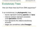 evolutionary trees19