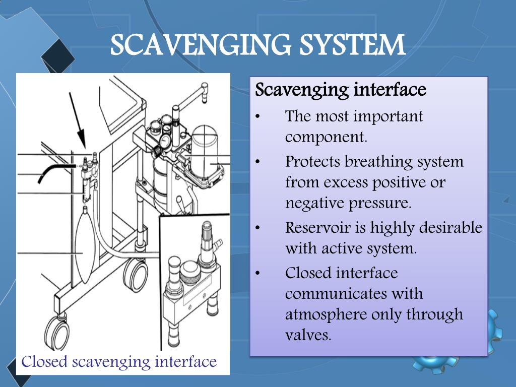 SCAVENGING SYSTEM