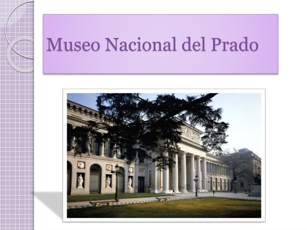 museo nacional del prado l.