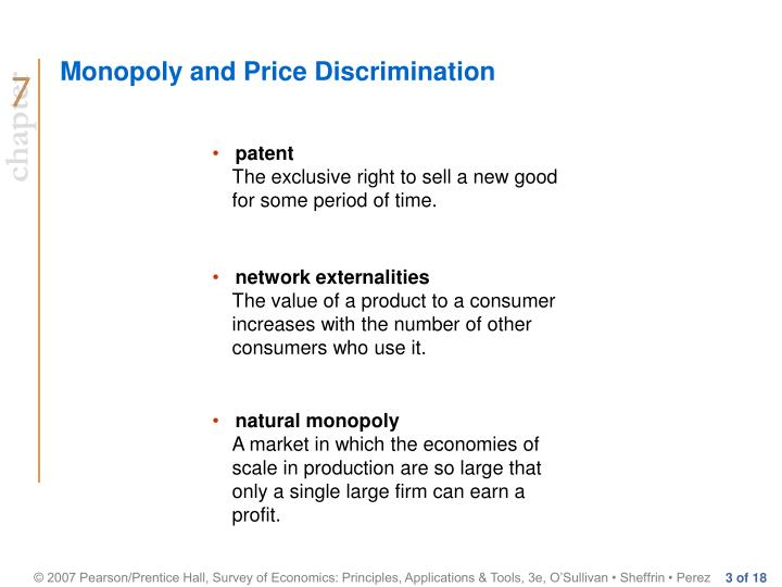 Monopoly and price discrimination3