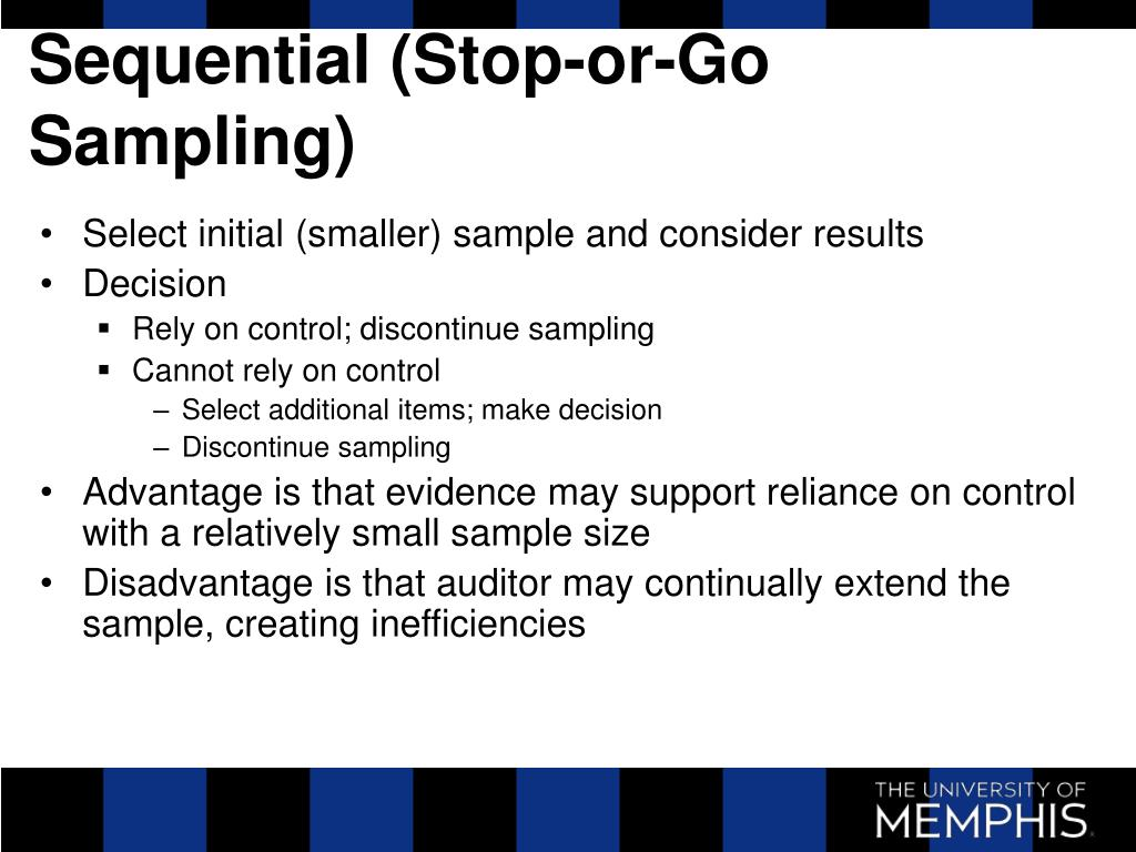 Sequential (Stop-or-Go Sampling)