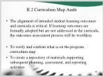 ii 2 curriculum map audit