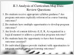 ii 3 analysis of curriculum map data review questions