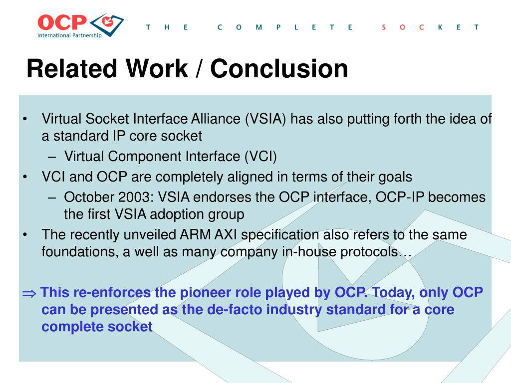 Related Work / Conclusion