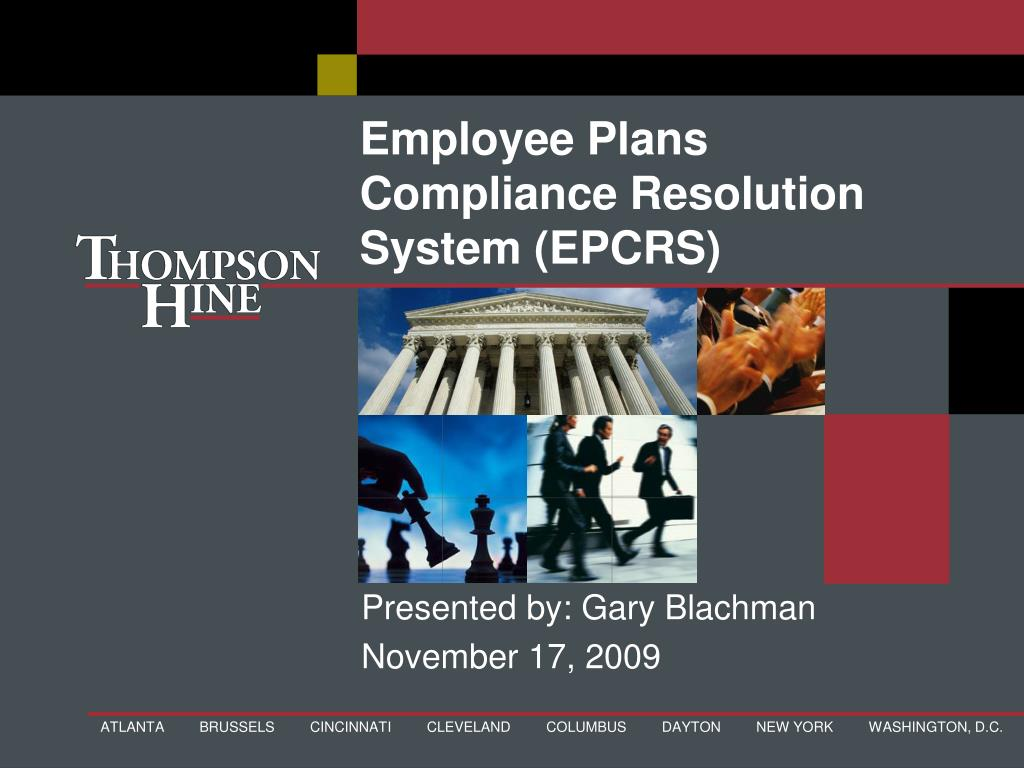 employee plans compliance resolution system epcrs l.
