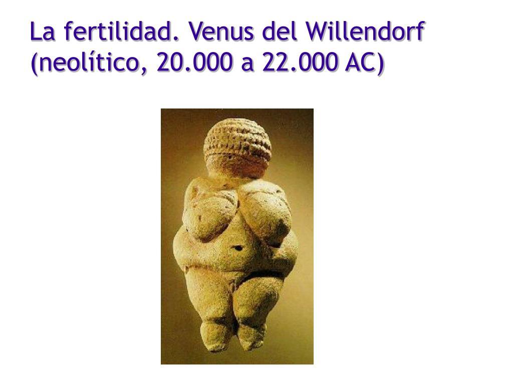 La fertilidad. Venus