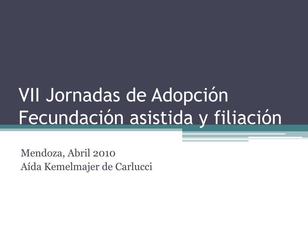 VII Jornadas de Adopción