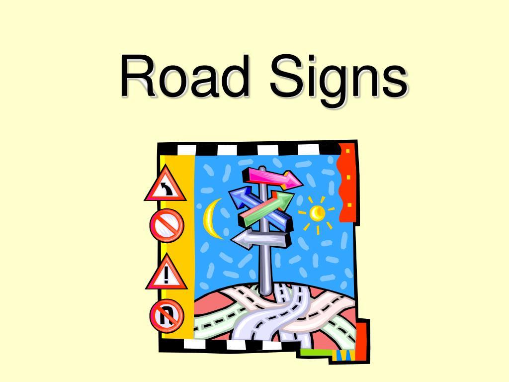 road signs l.