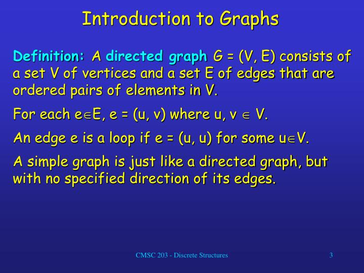 Introduction to graphs3