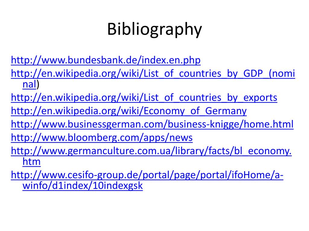 PPT - German Busiiness PowerPoint Presentation - ID:3713