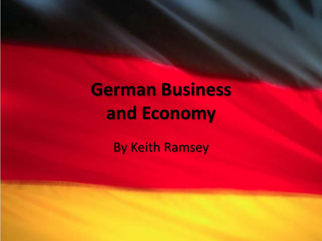 german business and economy l.