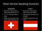 other german speaking countries