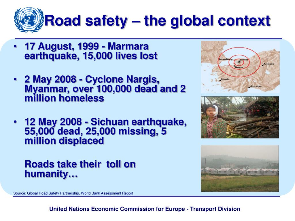 road safety the global context l.