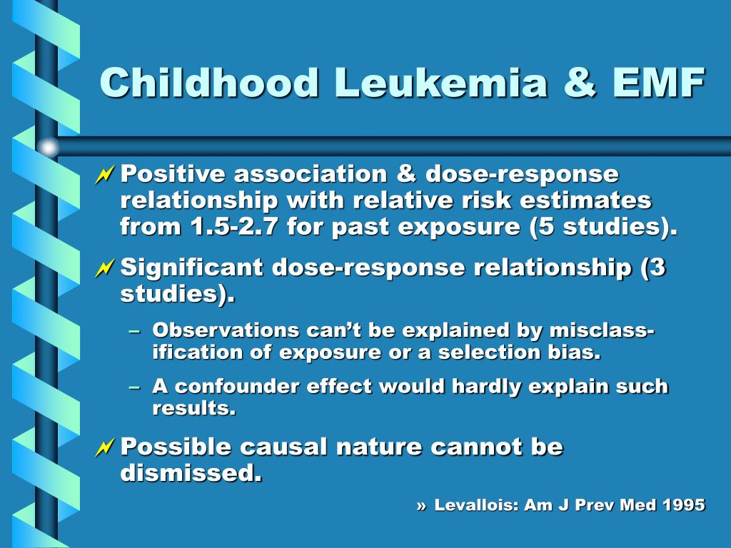 Childhood Leukemia & EMF