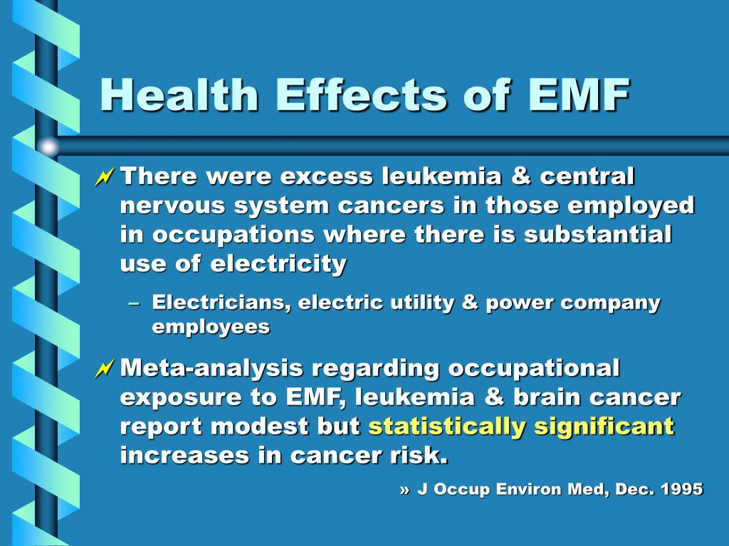 Health Effects of EMF