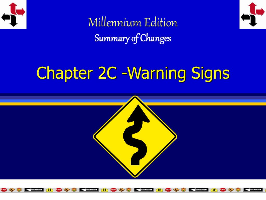 chapter 2c warning signs l.