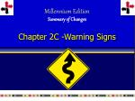 chapter 2c warning signs