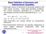 basic definition of harmonic and interharmonic quantities15