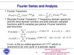 fourier series and analysis11