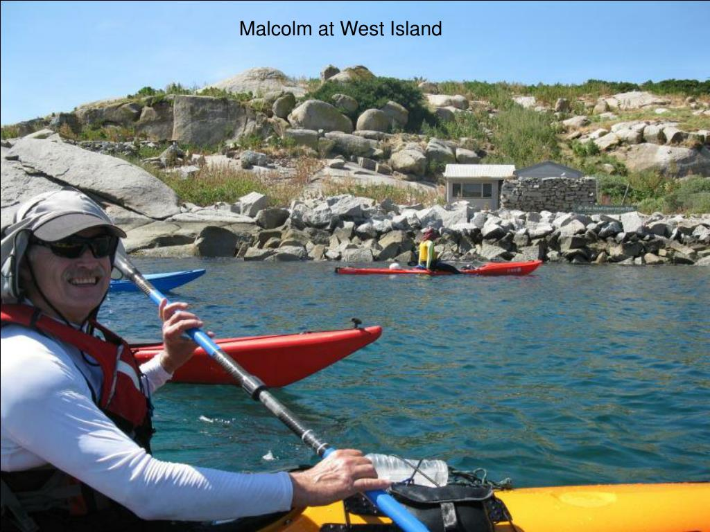 Malcolm at West Island