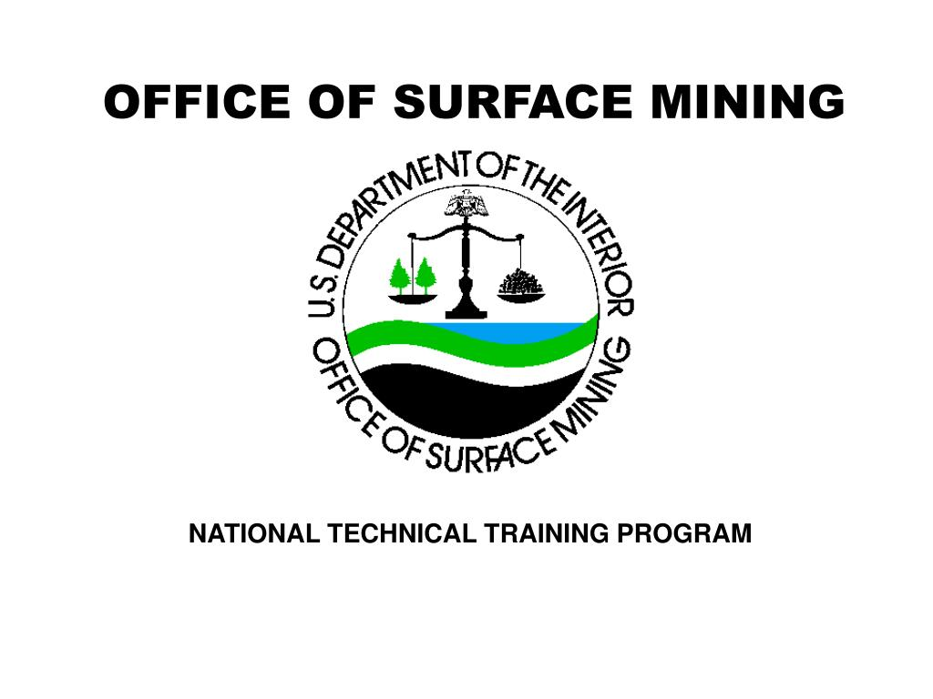 OFFICE OF SURFACE MINING