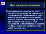 road management enterprises