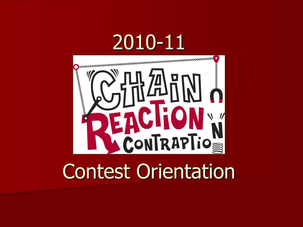 2010 11 contest orientation l.