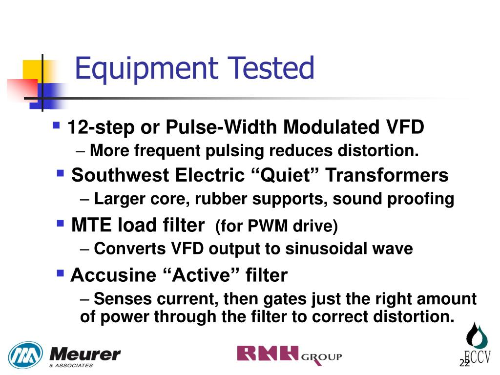 PPT  RESOLVING TRANSFORMER NOISE AND ELECTRICAL HARMONICS PROBLEMS ASSOCIATED WITH DEEP WELL