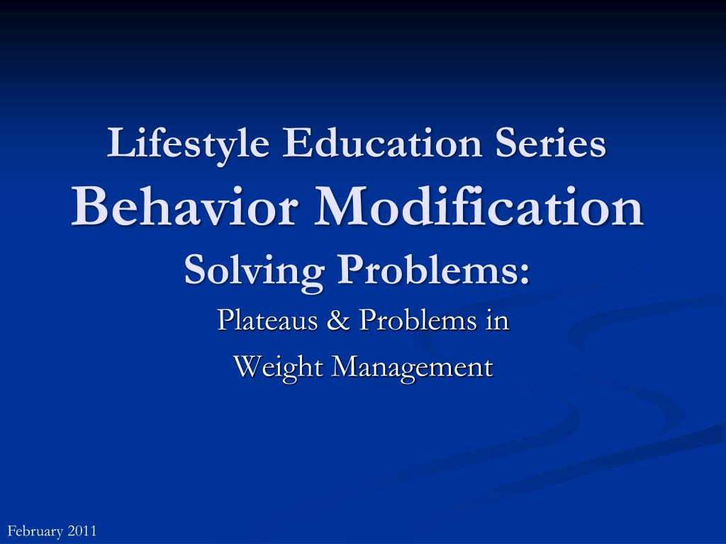 Lifestyle Education Series