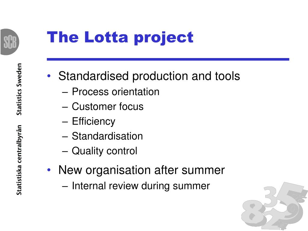 The Lotta project
