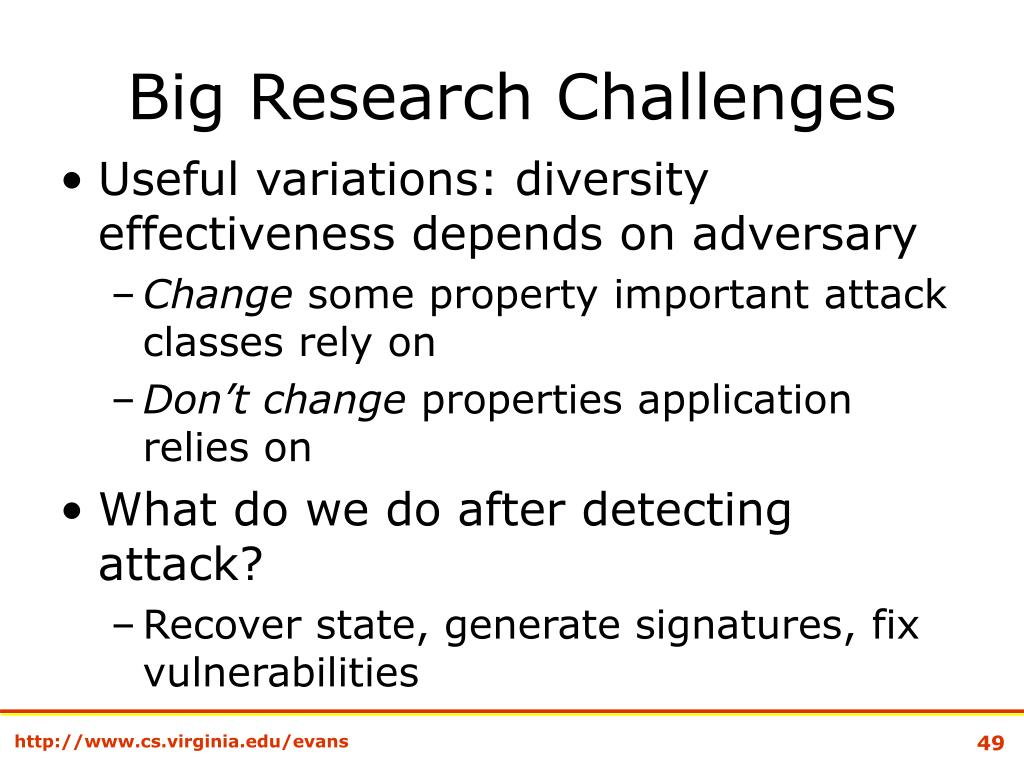 Big Research Challenges
