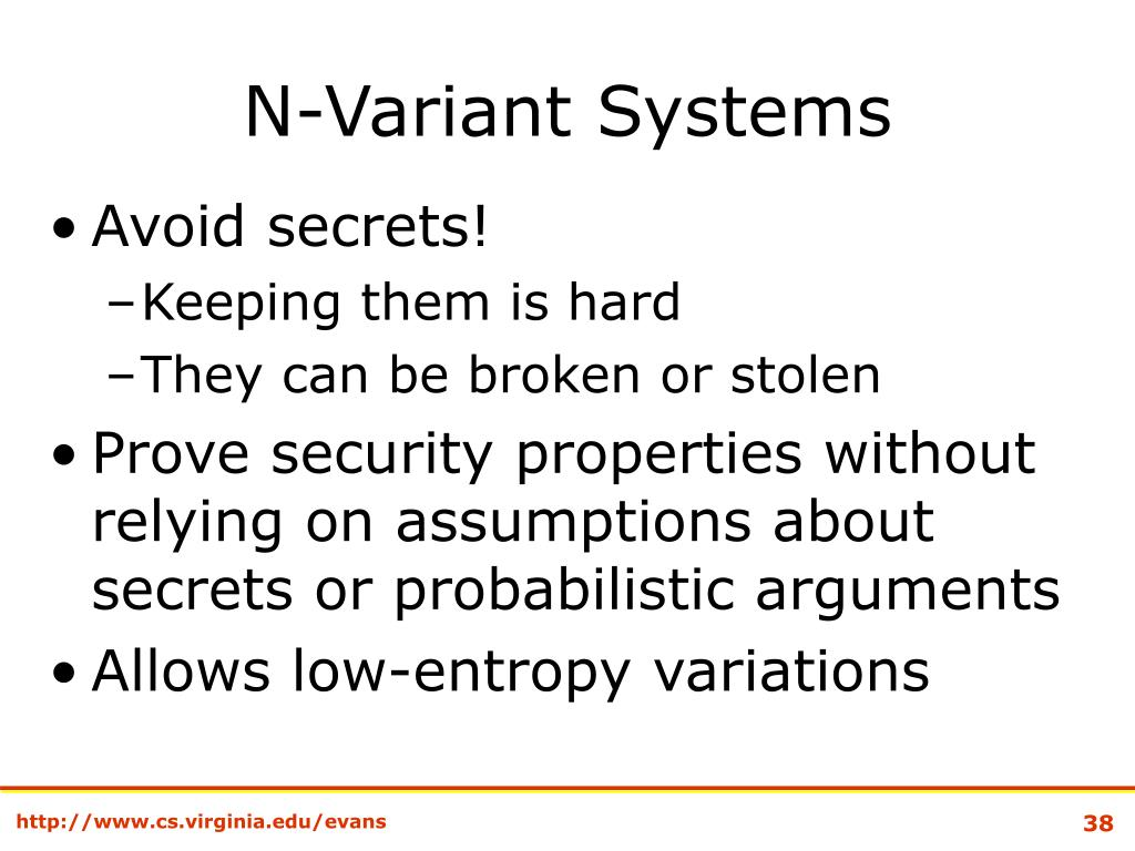 N-Variant Systems