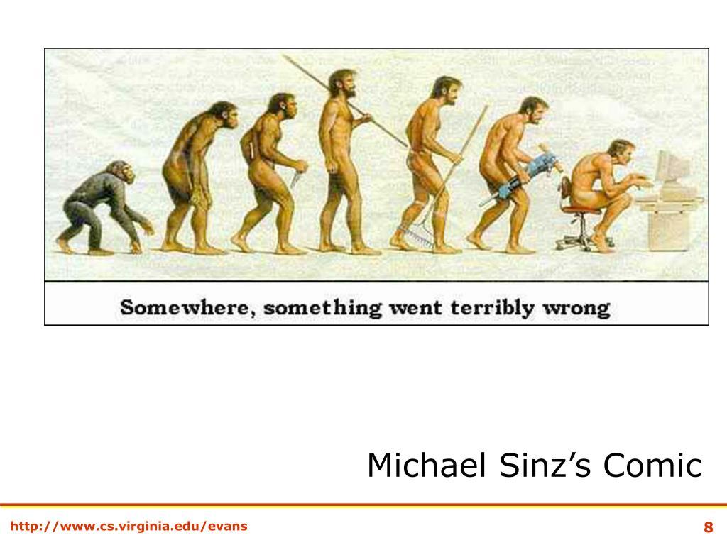 Michael Sinz's Comic