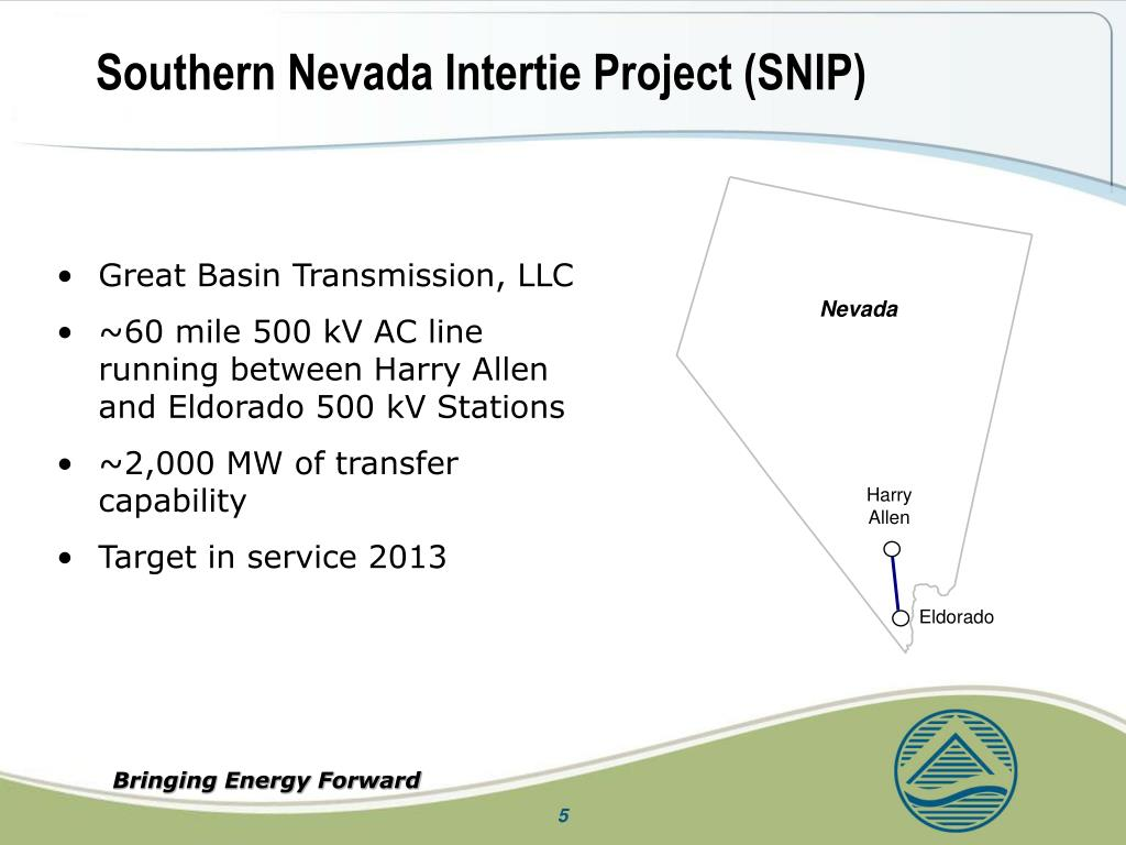 Southern Nevada Intertie Project (SNIP)