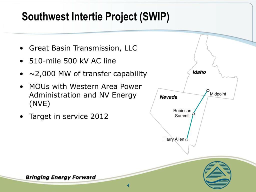 Southwest Intertie Project (SWIP)