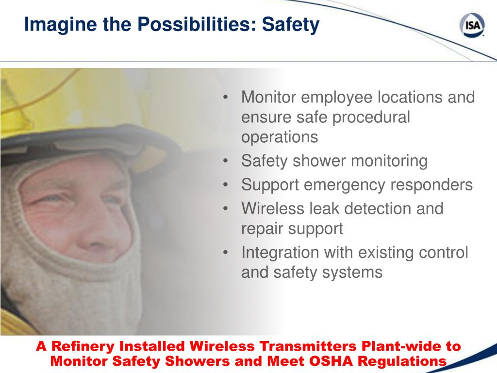 Imagine the Possibilities: Safety