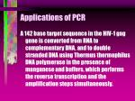 applications of pcr37